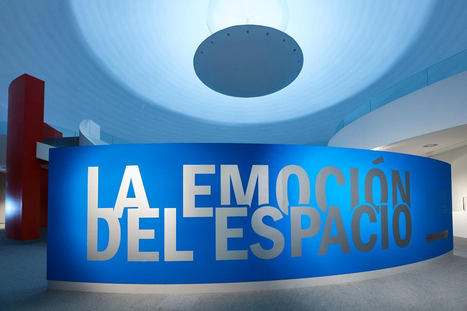 La emoción del espacio. Foto: Manuel Carranza. Centro Niemeyer